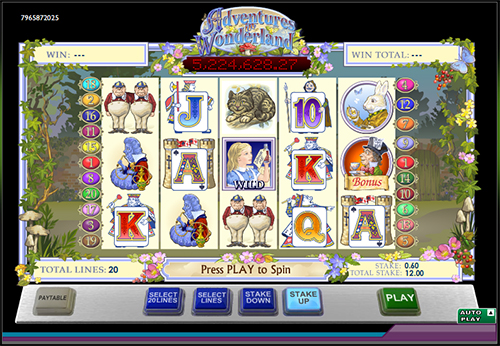 alice's wonderland online slot im 888 casino