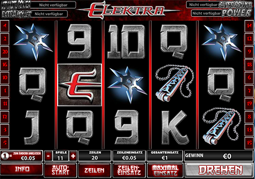 elektra slot im william hill online casino