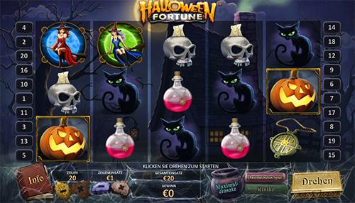 eurogrand online slot halloween fortune