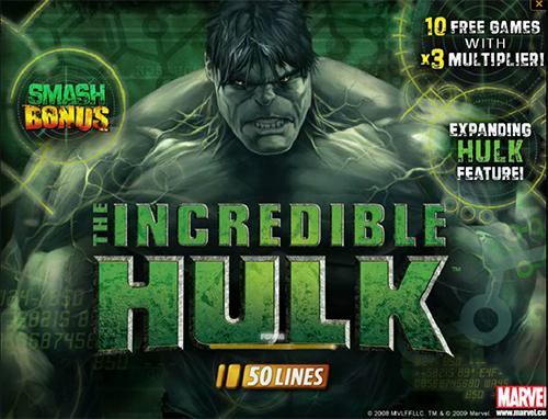 der hulk online slot von marvel