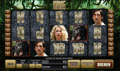 king kong online slot im william hill