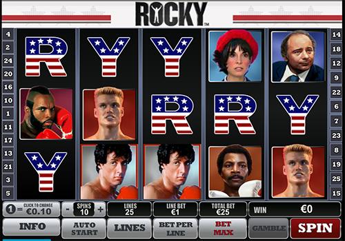 rocky slot im william hill casino