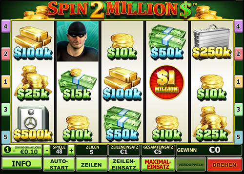 spin 2 million online slot im eurogrand online casino