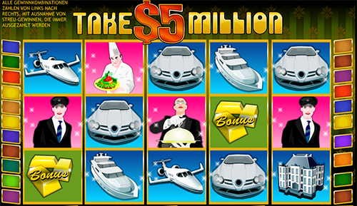 take 5 million online slot bei william hill