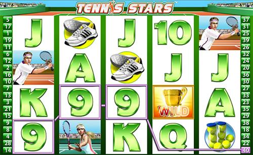 tennis stars online slot im william hill casino